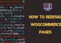 redesign woocommerce pages code