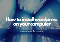 wordpress-installtion-on-your-computer